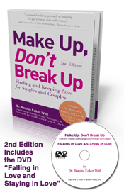 Make Up, Don't Break Up with DVD Falling in Love and Staying in Love