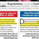 Dr. Bonnie was quoted in OK Magazine about age gaps in marriages